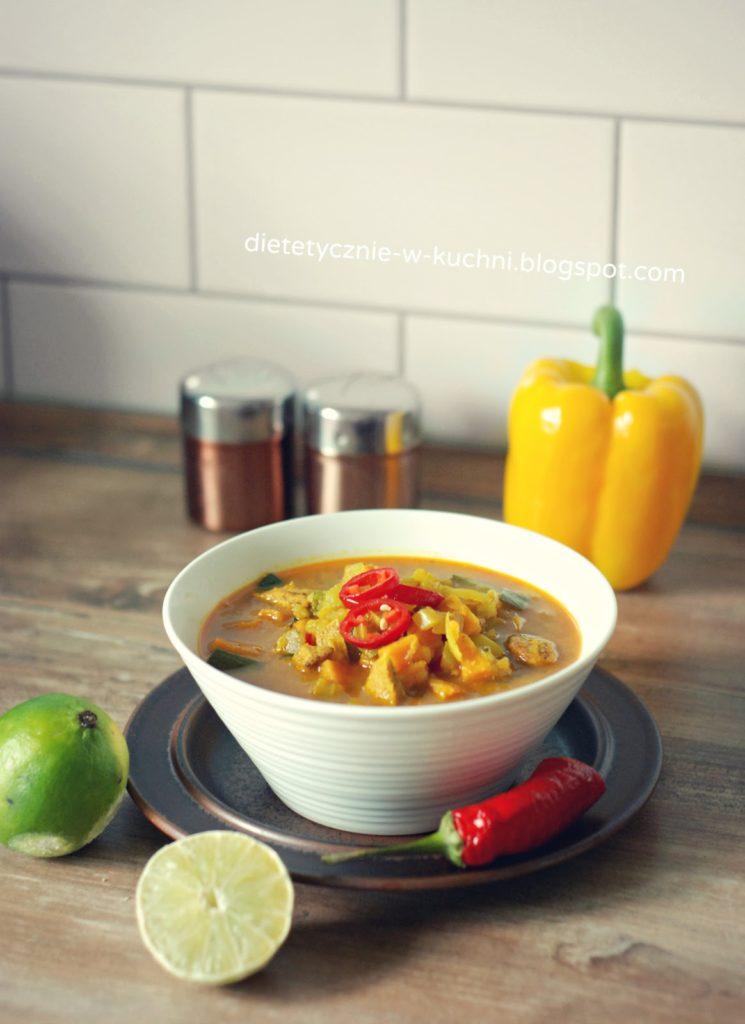 Dietetyczna zupa curry