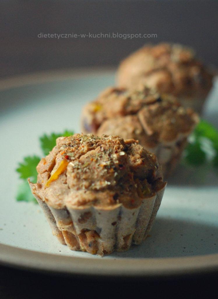 Fit muffiny zkurczakiem