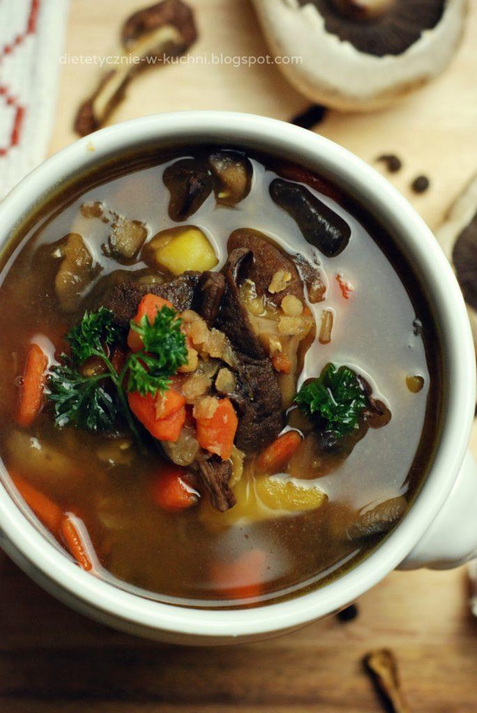 fit zupa grzybowa